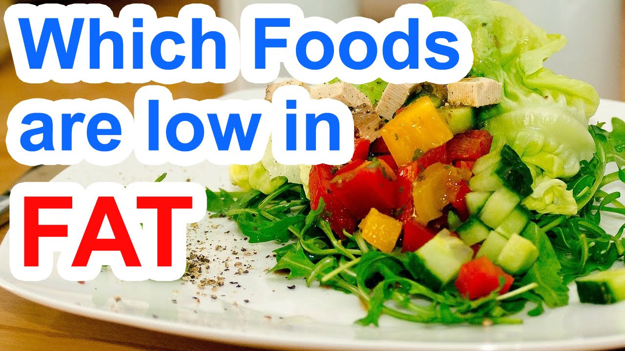 Low Fat Low Cholesterol Recipes  Which Foods Are Low In Fat