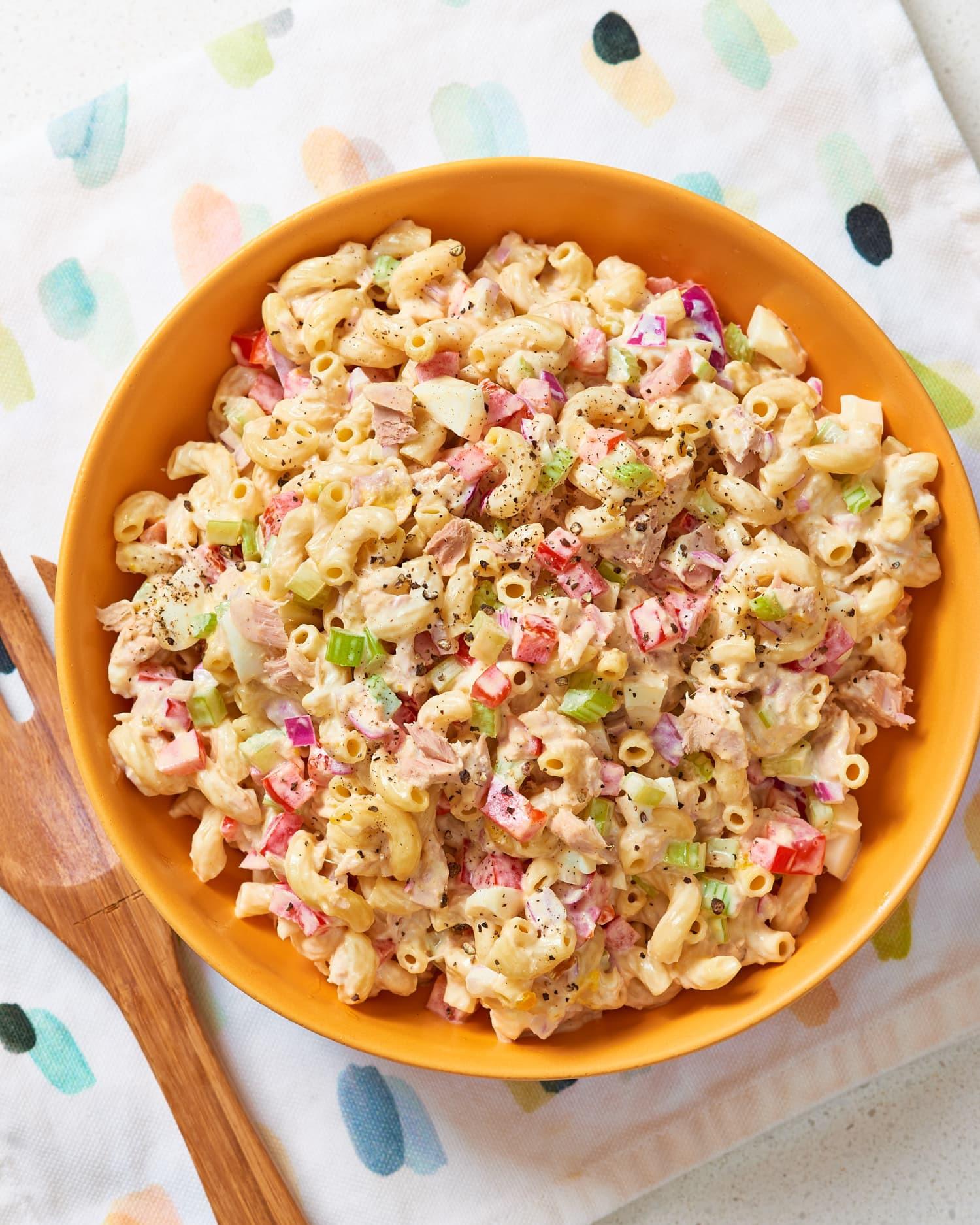 Macaroni Salad With Tuna  Better Classic Tuna Macaroni Salad Kitchn