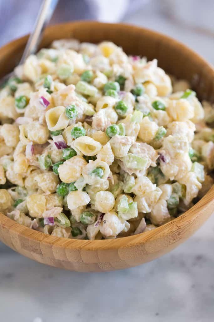 Macaroni Salad With Tuna  Classic Tuna Pasta Salad Tastes Better From Scratch