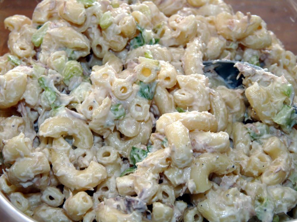 Macaroni Salad With Tuna  Tuna Macaroni Salad
