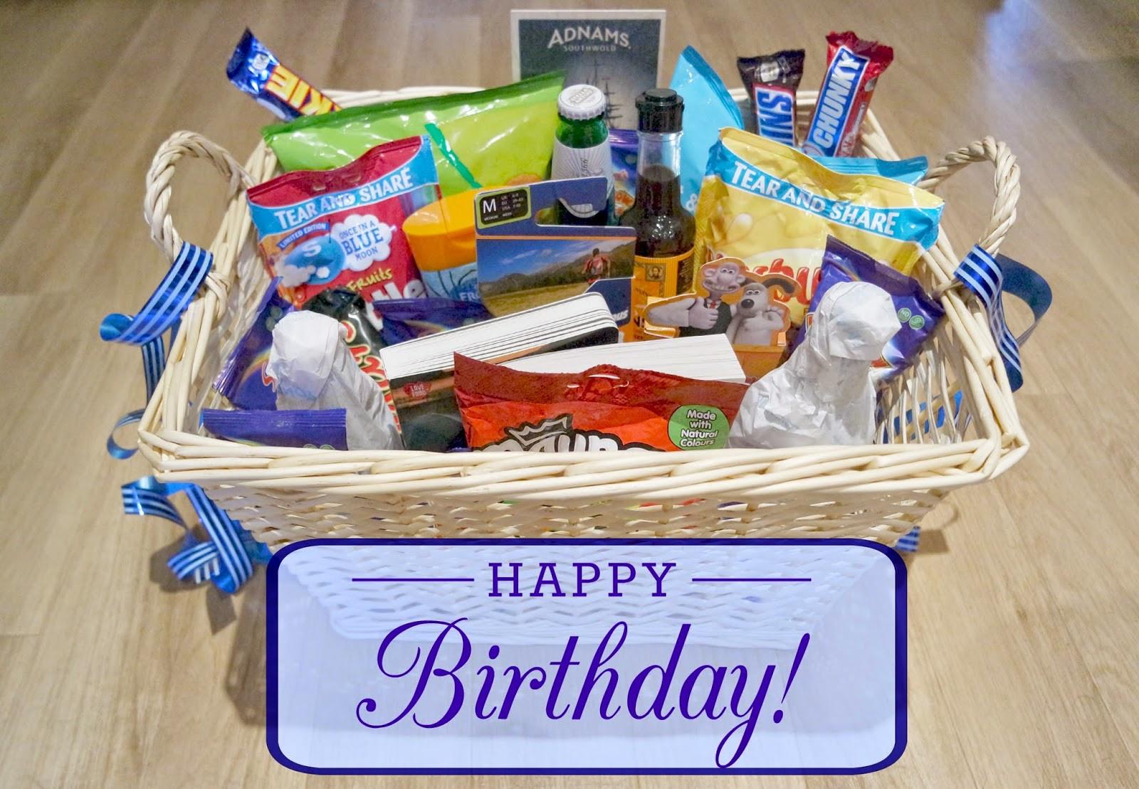 Male Birthday Gift Ideas  Uptown Peach My Dad s 50th Birthday Hamper