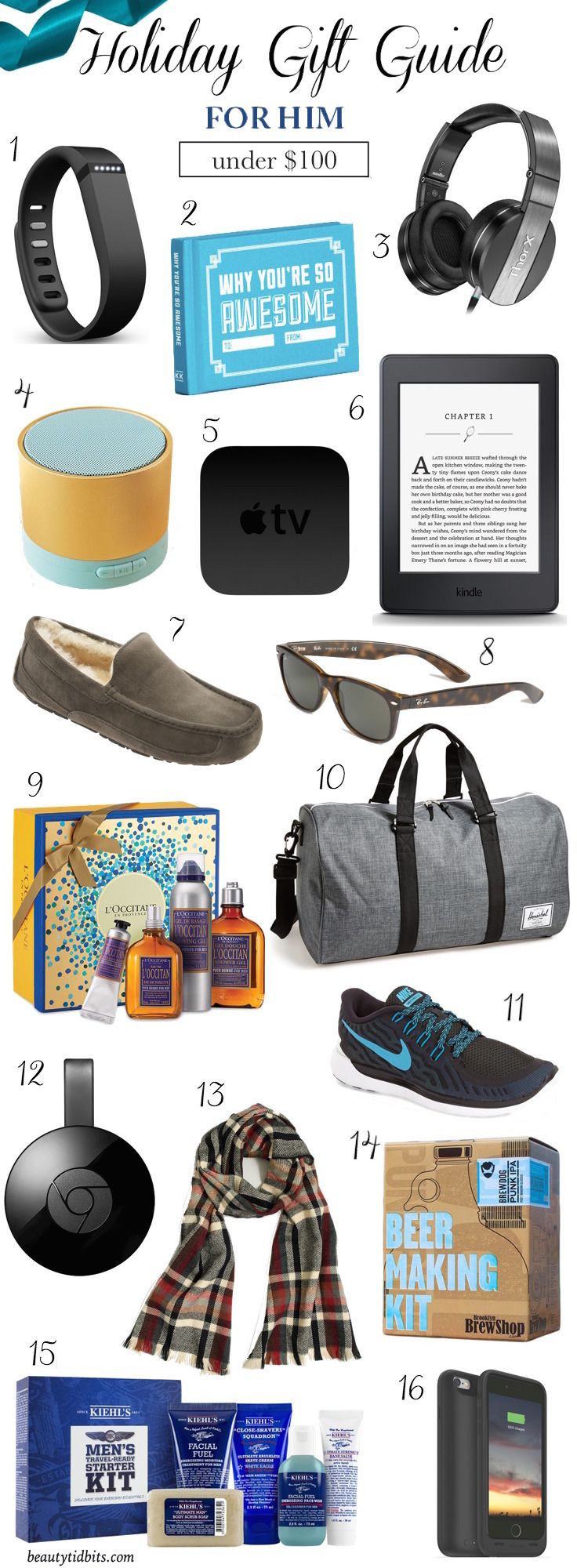 Male Birthday Gift Ideas  16 Holiday Gifts Your Man Will Love And Actually Use