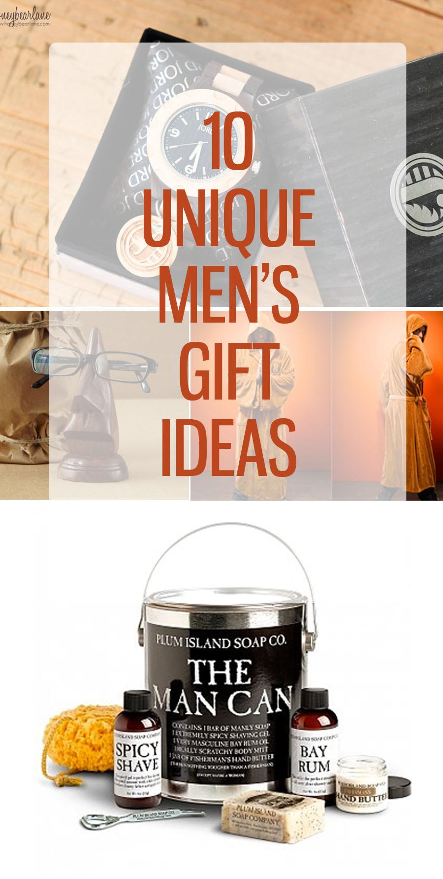 Male Birthday Gift Ideas  10 Unique Mens Gift Ideas HoneyBear Lane