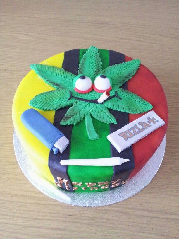Marijuana Birthday Cake  Cannabis Birthday Cakes