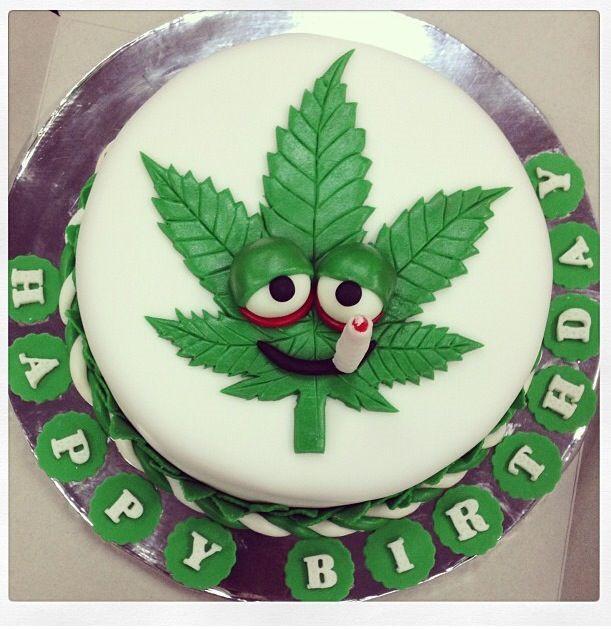 Marijuana Birthday Cake  Weed birthday cake
