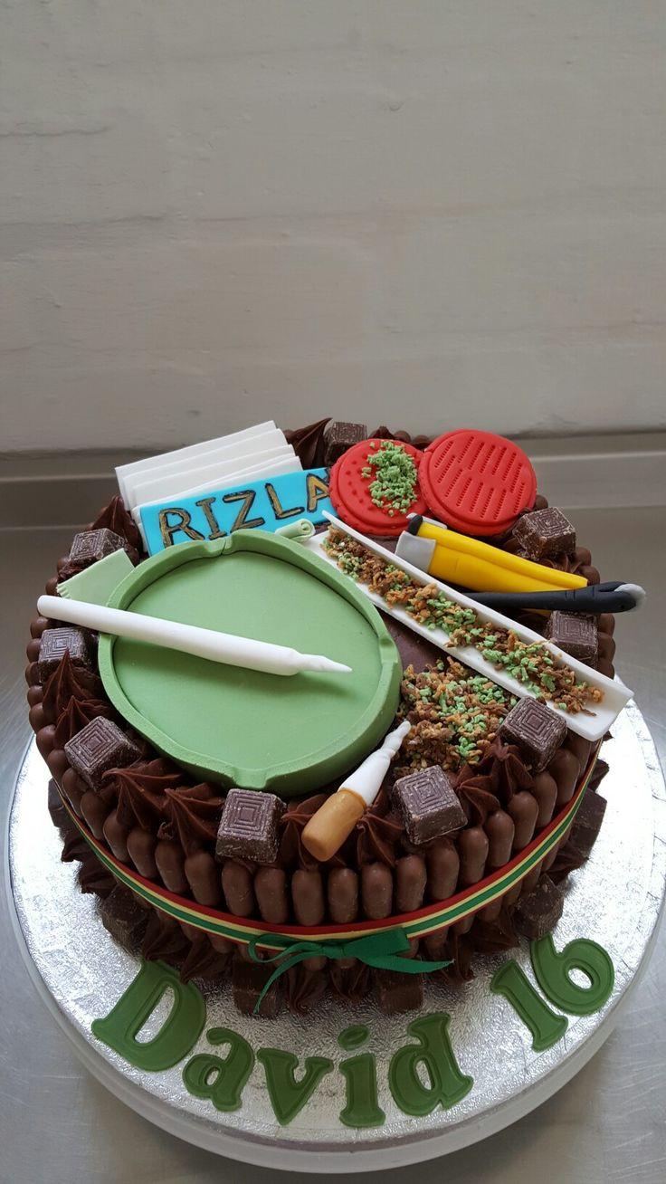Marijuana Birthday Cake  29 best weed cakes images on Pinterest