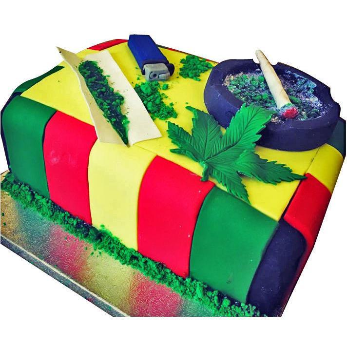 Marijuana Birthday Cake  Marijuana Cake Buy line Free Next Day Delivery – New