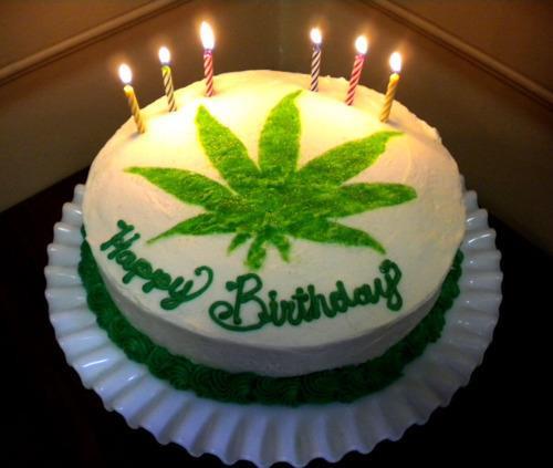 Marijuana Birthday Cake  A collection of Weed Birthday Cakes