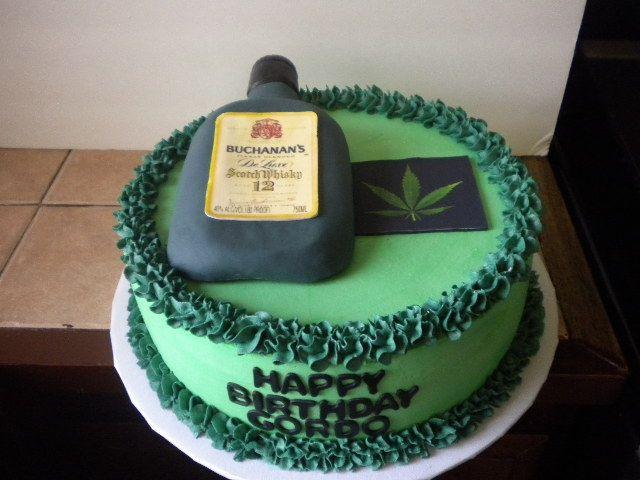 Marijuana Birthday Cake  Marijuana Birthday Cakes