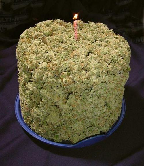 Marijuana Birthday Cake  Dirty Weed Dirty Weed Is Born