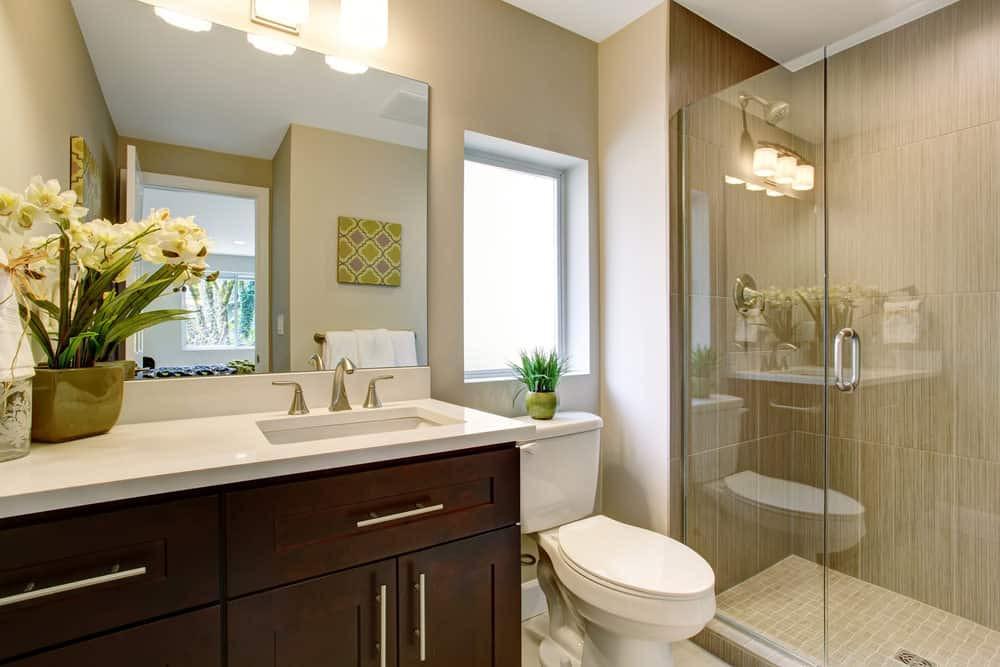 Master Bathroom Ideas Photo Gallery  33 Terrific Small Primary Bathroom Ideas 2020 s