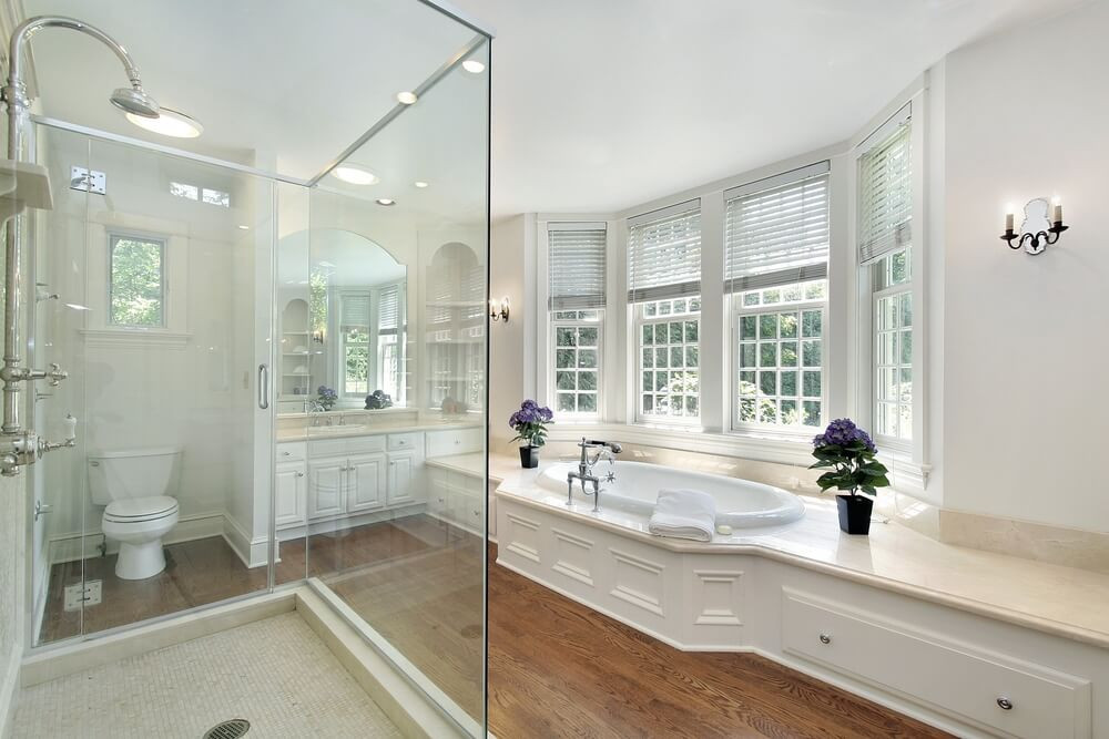 Master Bathroom Ideas Photo Gallery  34 Luxury White Master Bathroom Ideas