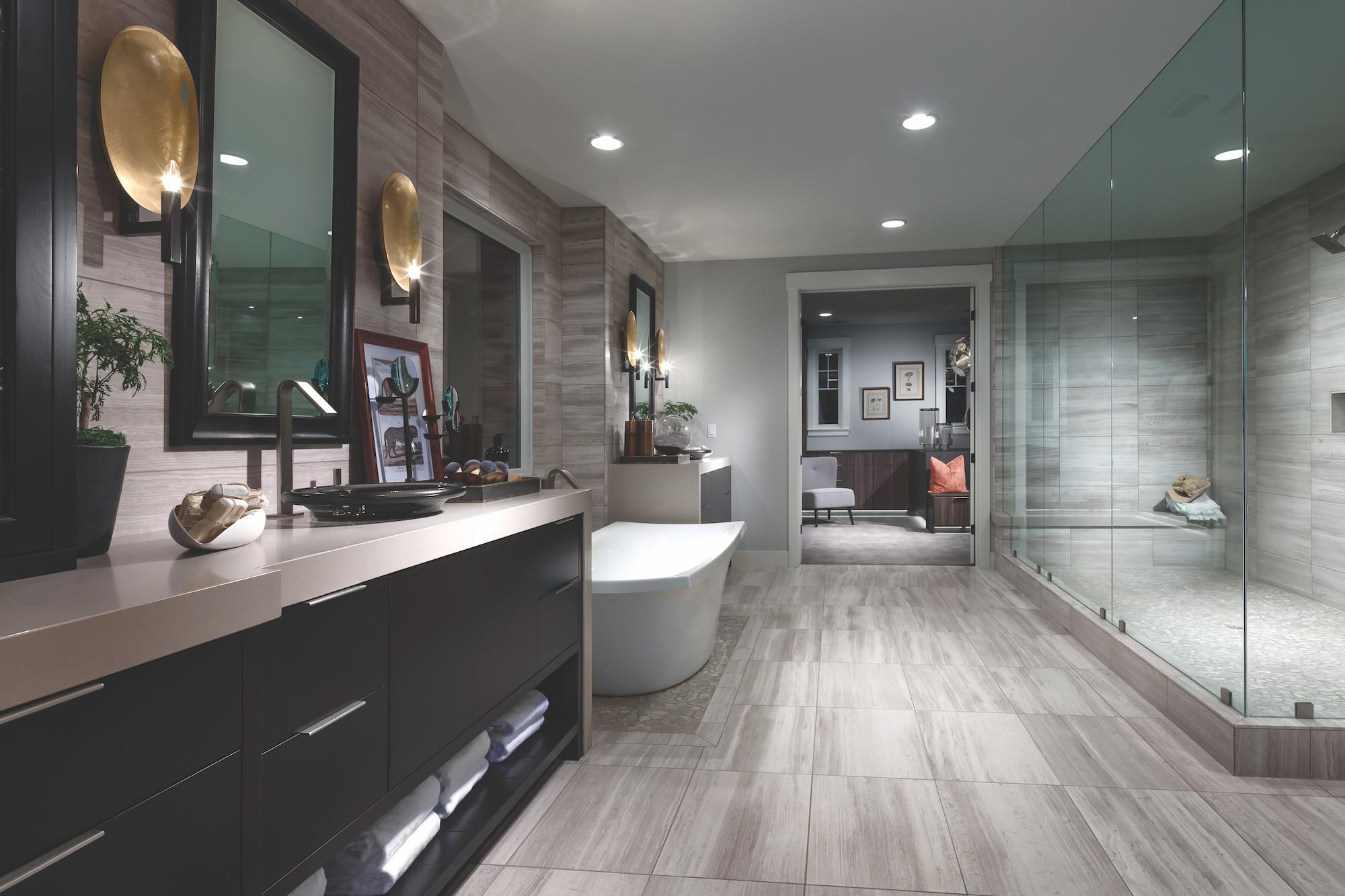 Master Bathroom Size  25 Luxury Bathroom Ideas & Designs