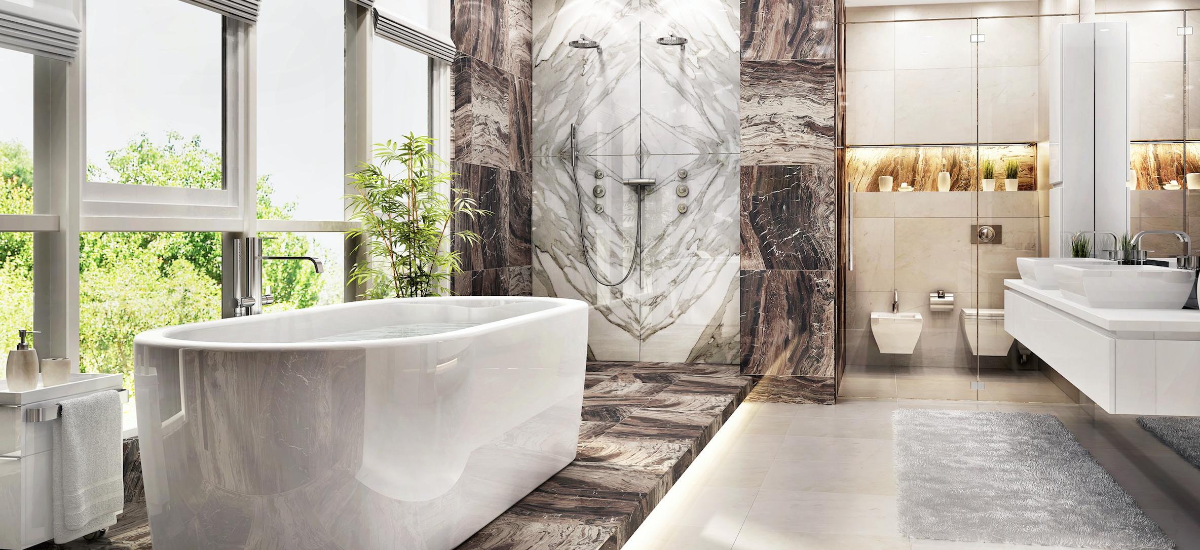 Master Bathroom Size  Size Matters Five Top Bathroom Trends