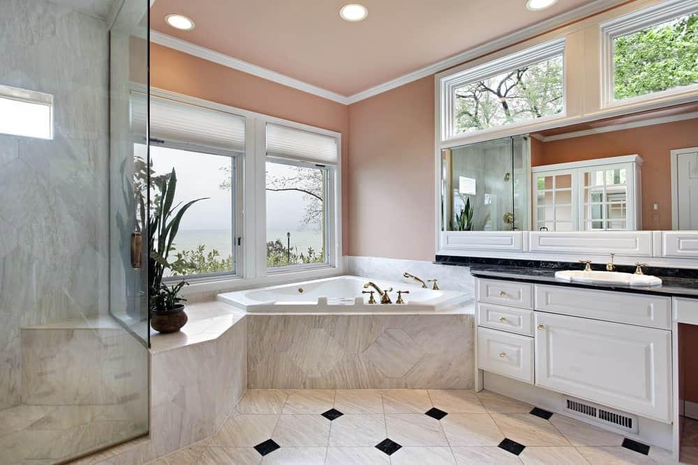 Master Bathroom Size  65 Medium Sized Primary Bathroom Ideas s