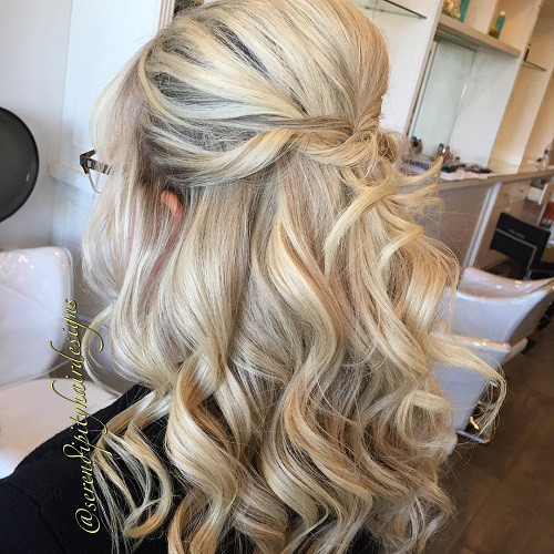 Medium Hairstyles For Wedding Guests  20 Lovely Wedding Guest Hairstyles