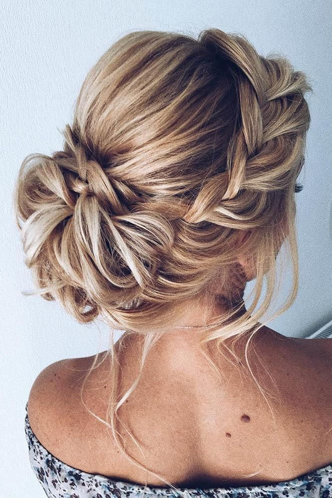 Medium Hairstyles For Wedding Guests  42 Wedding Guest Hairstyles The Most Beautiful Ideas