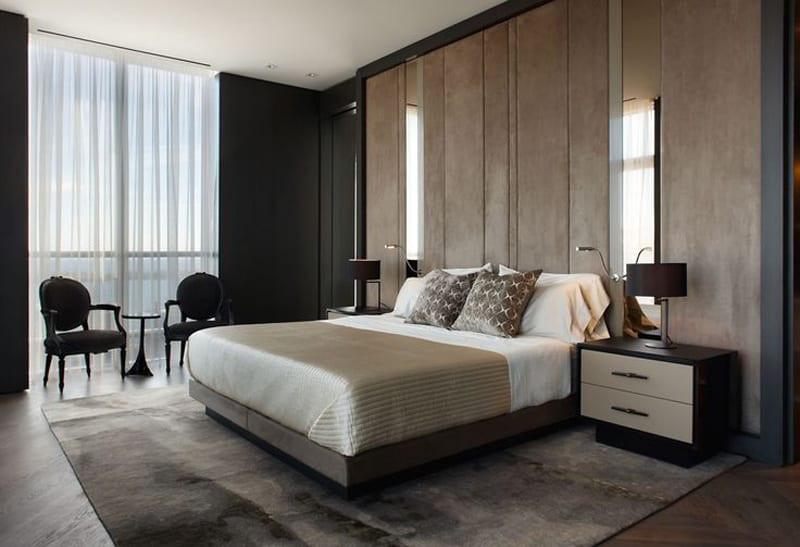 Mens Bedroom Design  20 Modern Contemporary Masculine Bedroom Designs