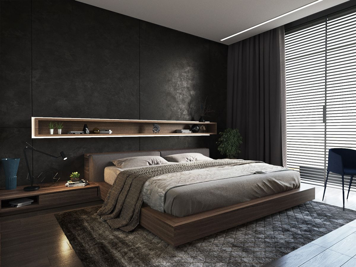 Mens Bedroom Design  Best Mens Bedroom Ideas Cool and Masculine Simplyhome