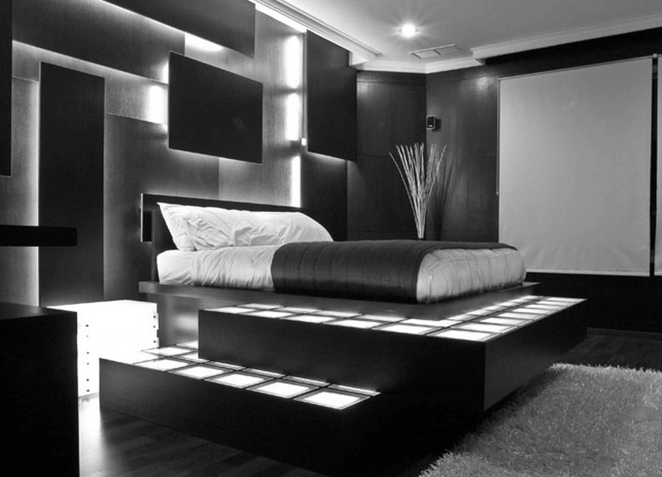 Mens Bedroom Design  34 STYLISH MASCULINE BEDROOMS Godfather Style