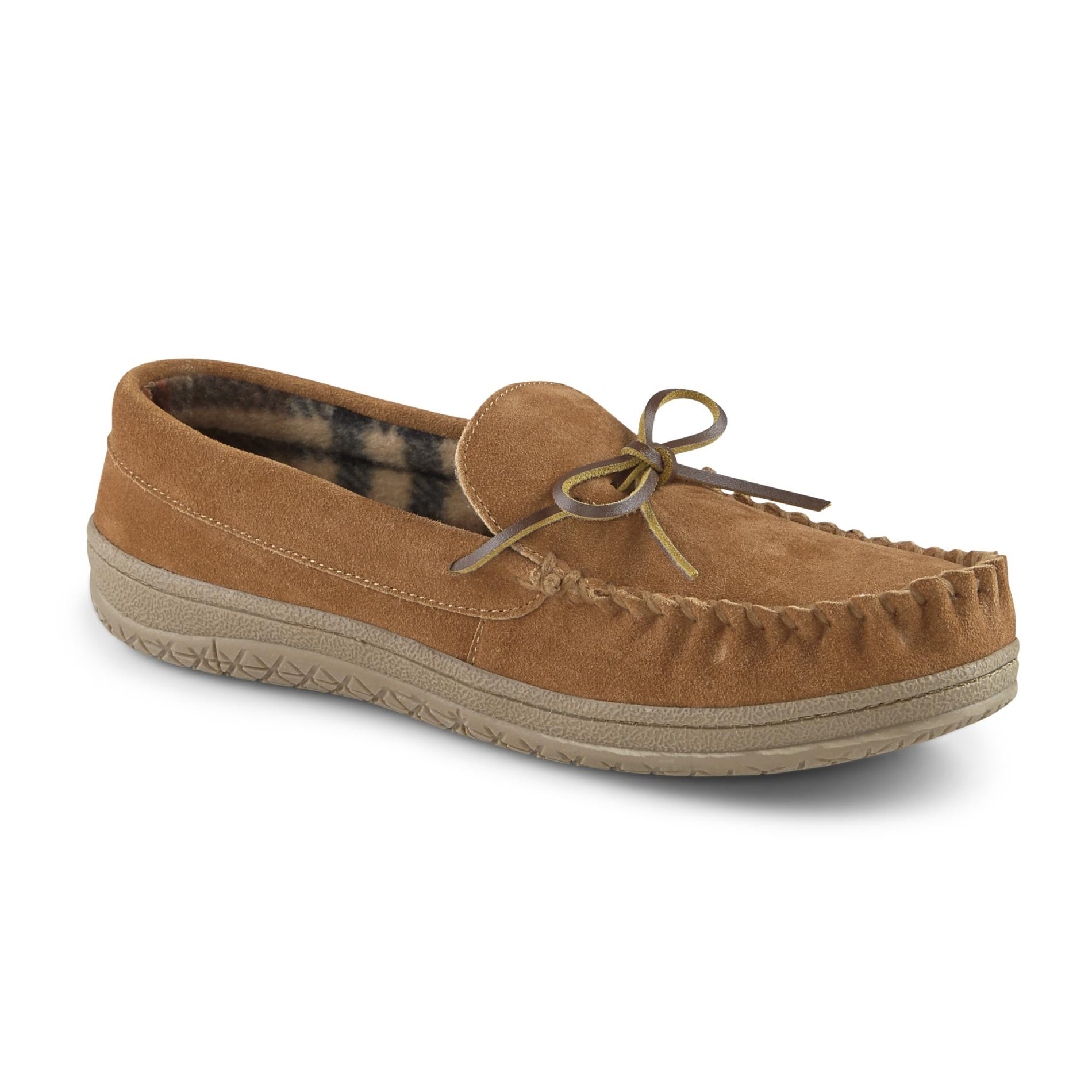 Mens Bedroom Shoes  Roebuck & Co Men's Paxton Slip Moccasin Slippers Sears