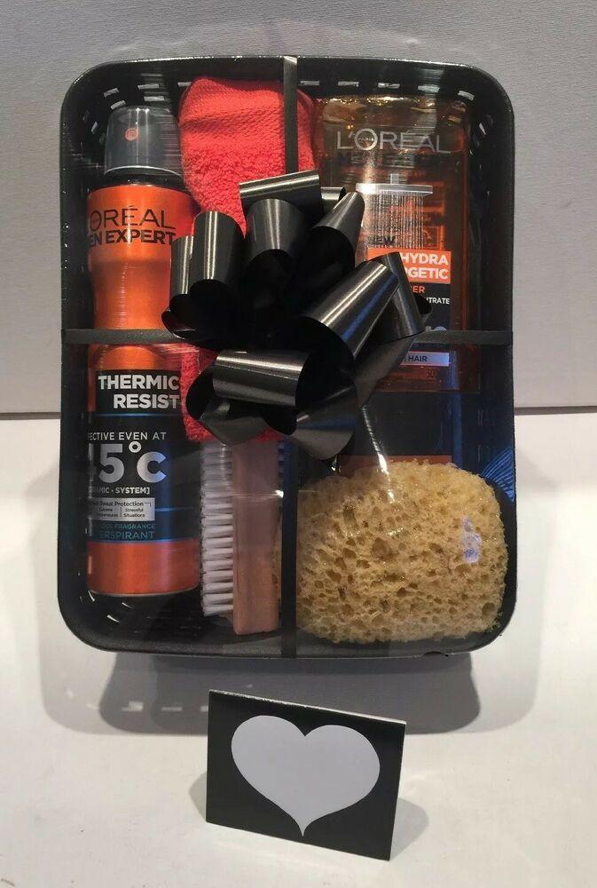 Mens Valentines Gift Ideas Uk  Birthday Gift Basket Hamper for Him Mens Gift Idea Husband