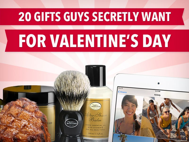 Mens Valentines Gift Ideas Uk  20 Gifts Guys Secretly Want For Valentine s Day