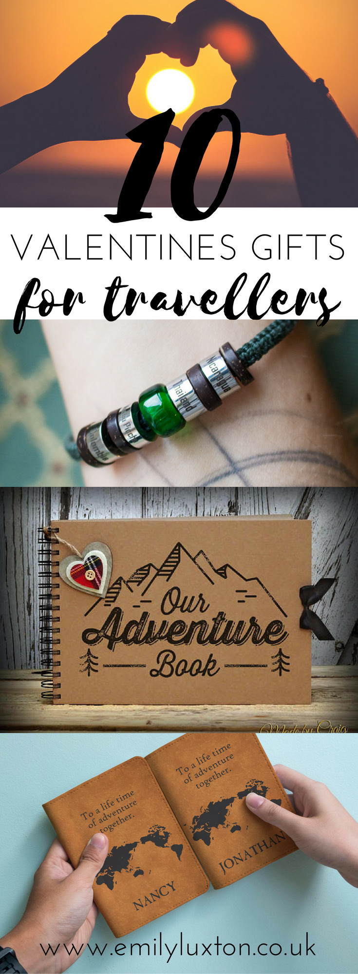 Mens Valentines Gift Ideas Uk  10 Unique Valentine s Gifts for Travel Lovers