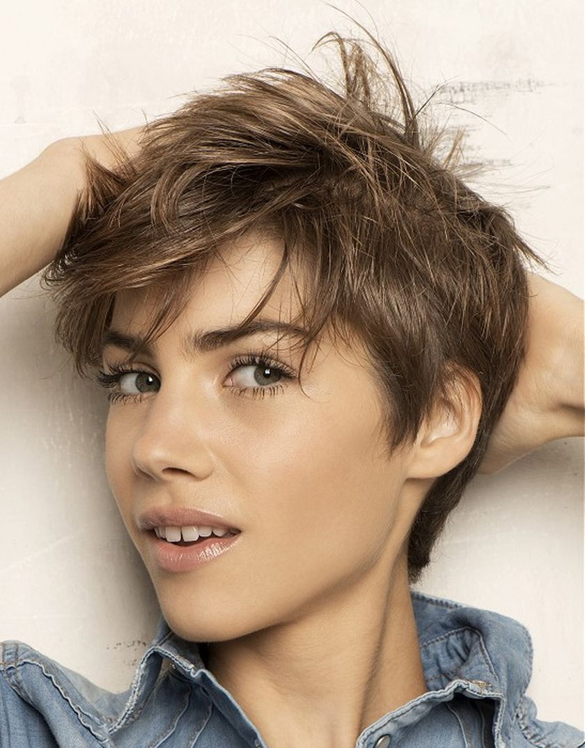 Messy Hairstyles For Short Hair  Short messy pixie haircut hairstyle ideas 17 Fashion Best