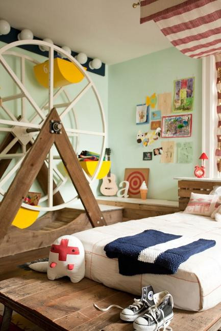 Modern Kids Decor  25 Modern Ideas for Kids Room Design and Decorating with Wood