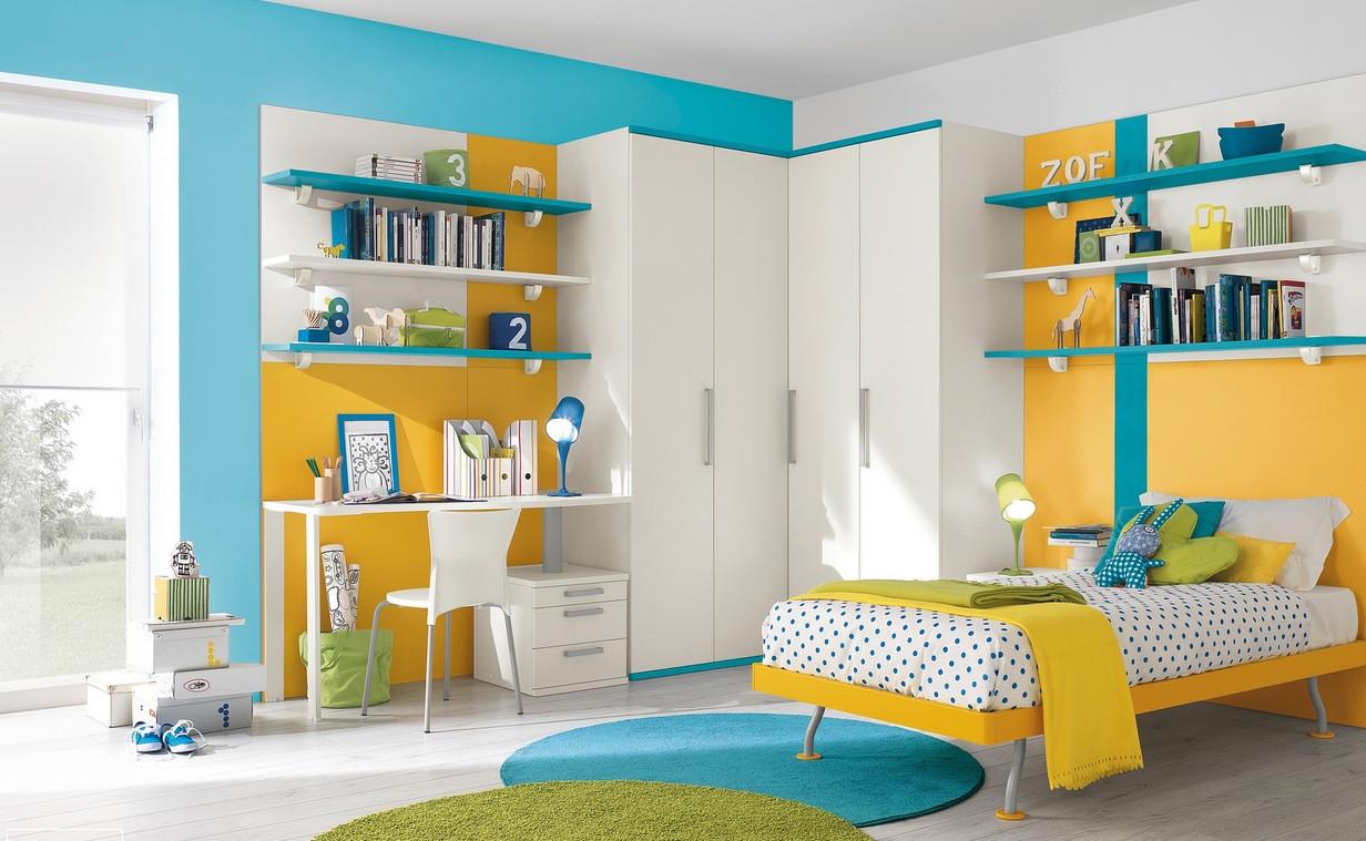 Modern Kids Decor  Modern Kid s Bedroom Design Ideas Futura Home Decorating