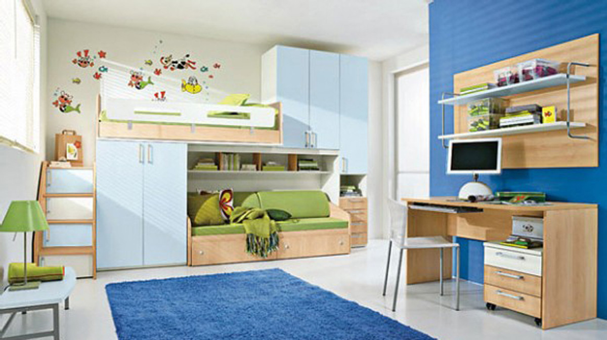 Modern Kids Decor  modern kids room decorating ideas Iroonie