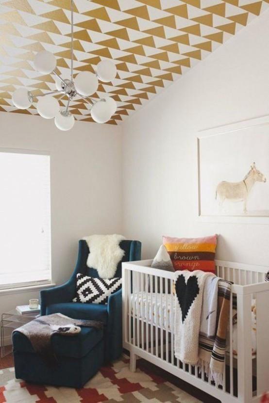 Modern Kids Decor  31 Cute Mid Century Modern Kids' Rooms Décor Ideas DigsDigs