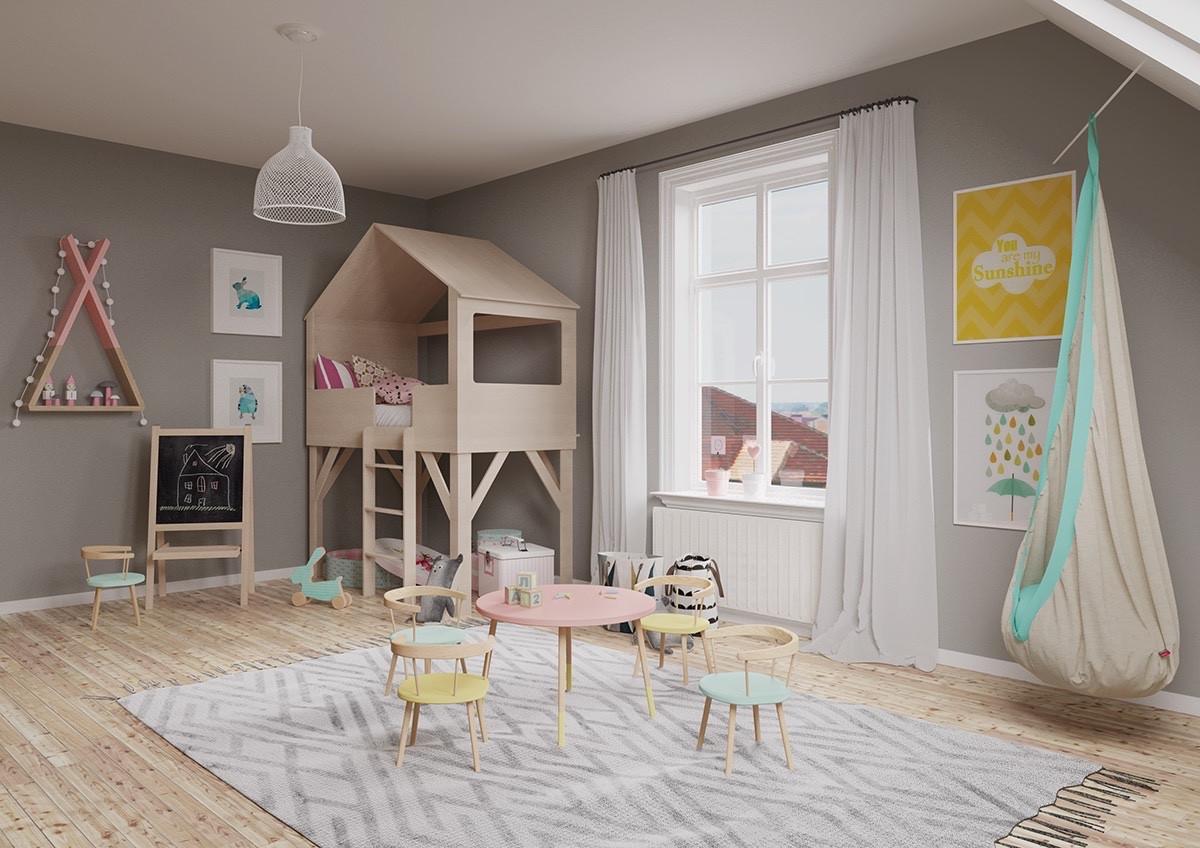 Modern Kids Decor  Inspiring Modern Kids Room Designs Which Brimming Quirky
