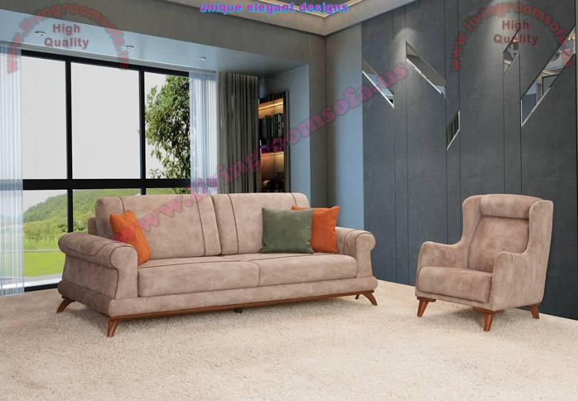 Modern Living Room Sets Cheap  Modern Cream QuilTed Living Room Sofa Design Exclusive