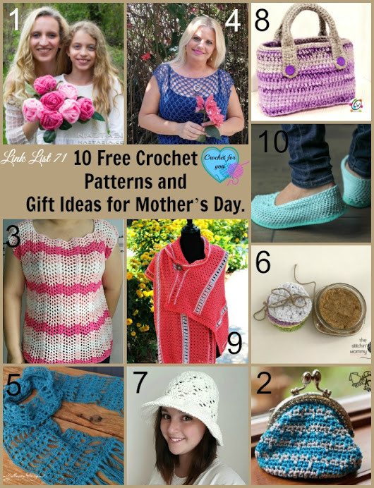 Mother'S Day Crochet Gift Ideas  Crochet these lovely patterns and give as a t for your
