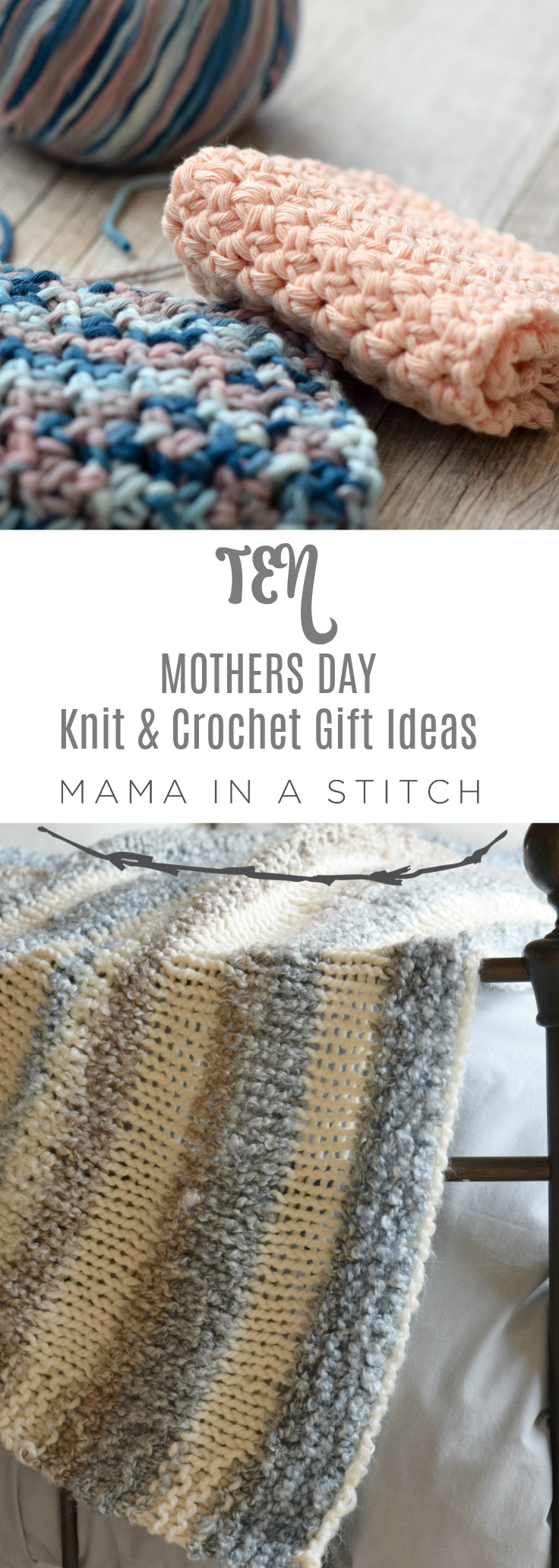 Mother'S Day Crochet Gift Ideas  Quick Mothers Day Knit and Crochet Gift Ideas – Mama In A