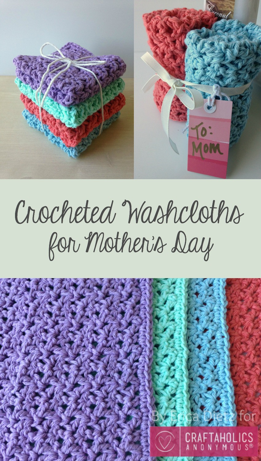Mother'S Day Crochet Gift Ideas  Craftaholics Anonymous