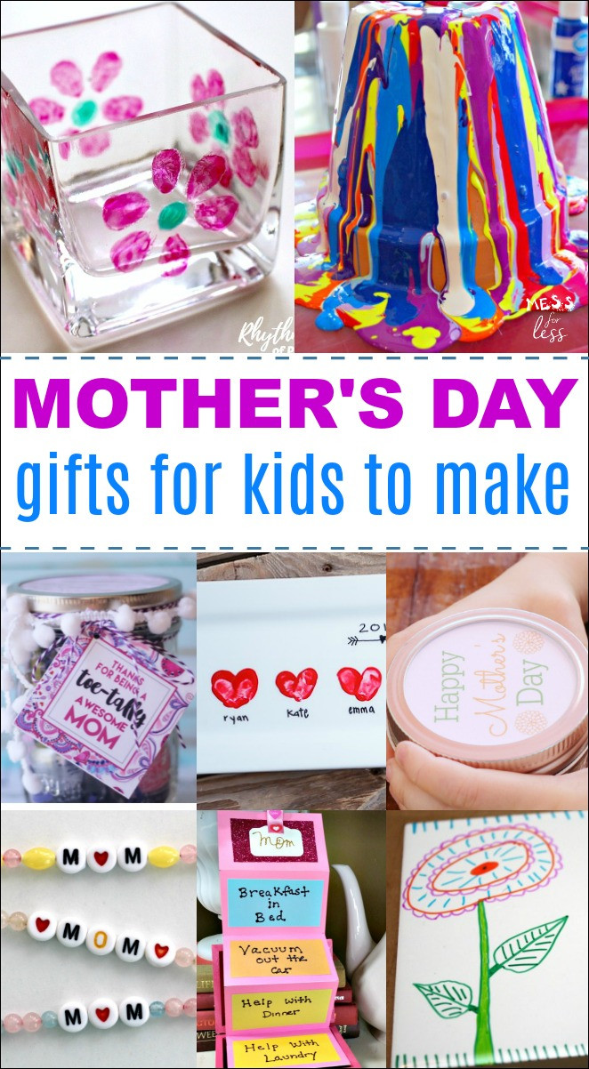 Mother'S Day Gift Ideas For Toddlers To Make  DIY Mother s Day Gifts Mess for Less
