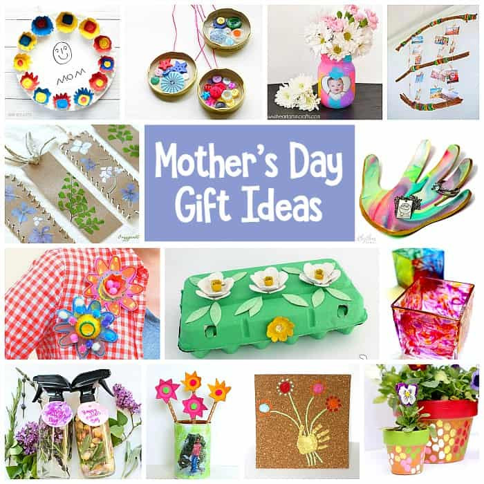 Mother'S Day Gift Ideas For Toddlers To Make  Mother s Day Homemade Gifts for Kids to Make Buggy and Buddy
