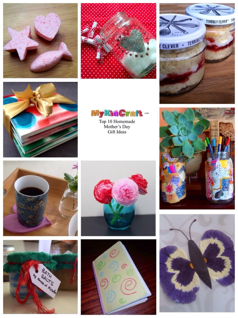 Mother'S Day Gift Ideas For Toddlers To Make  Top 10 Homemade Mothers Day Gift Ideas My Kid Craft