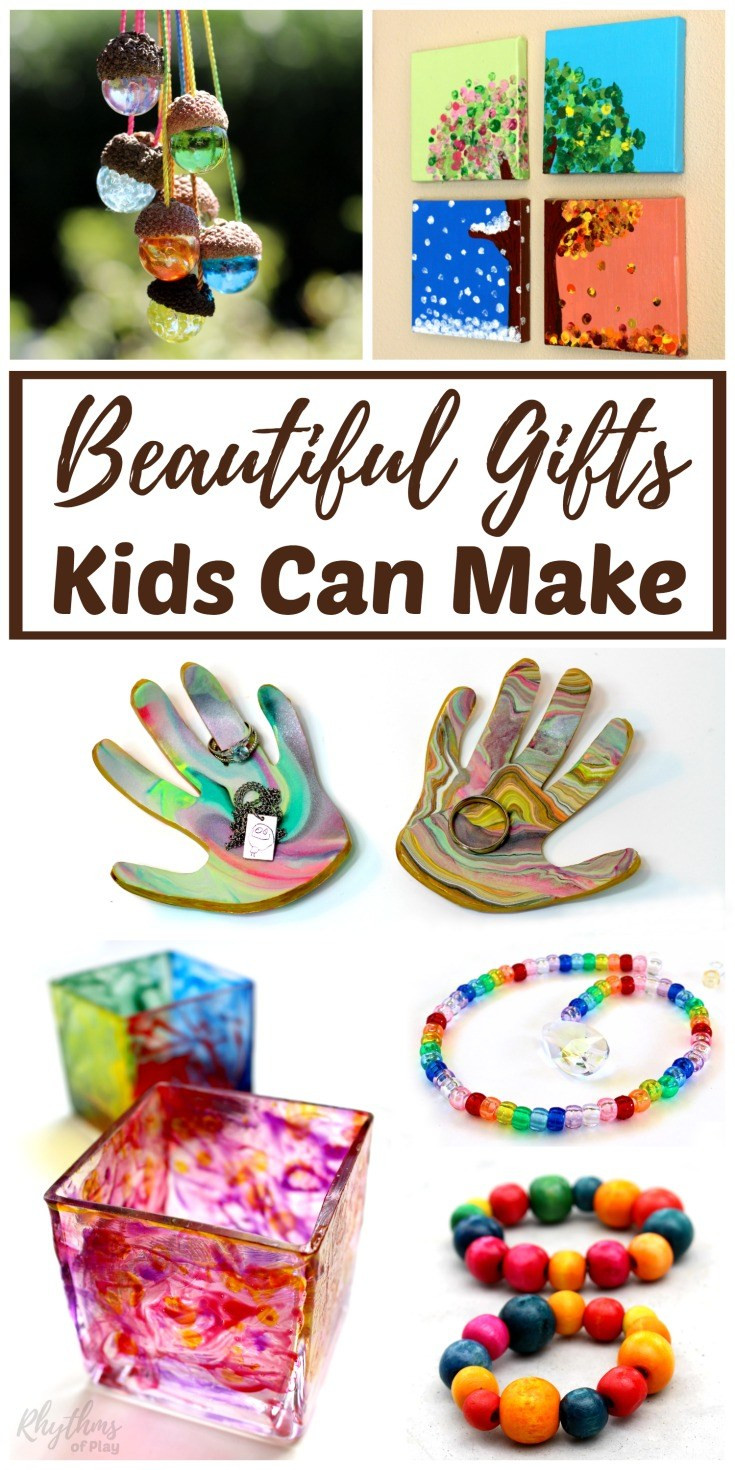 Mother'S Day Gift Ideas For Toddlers To Make  Beautiful DIY Gifts Your Kids Can Make Homeschool Giveaways