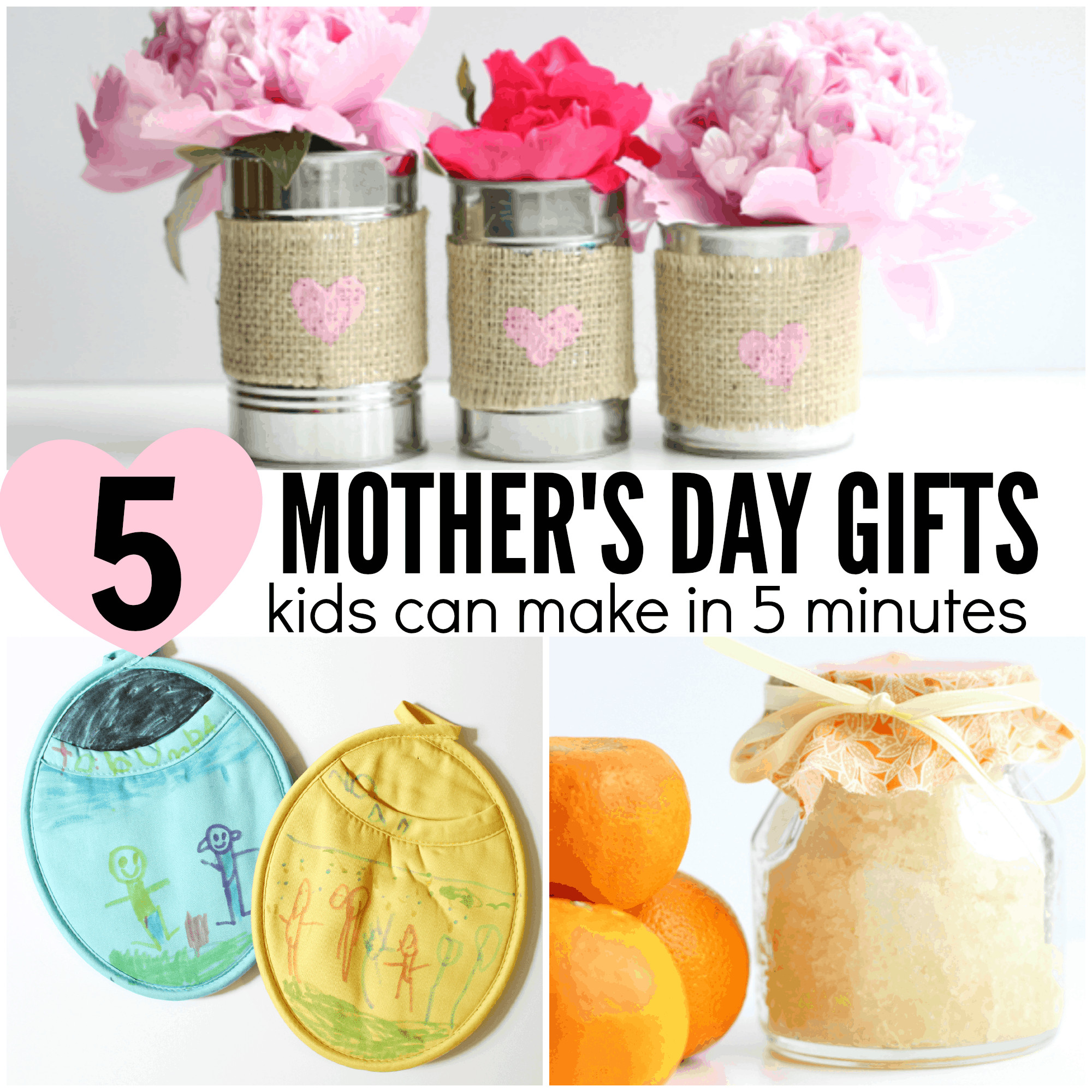 Mother'S Day Gift Ideas For Toddlers To Make  5 Mother s Day Gifts Preschoolers Can Make I Can Teach