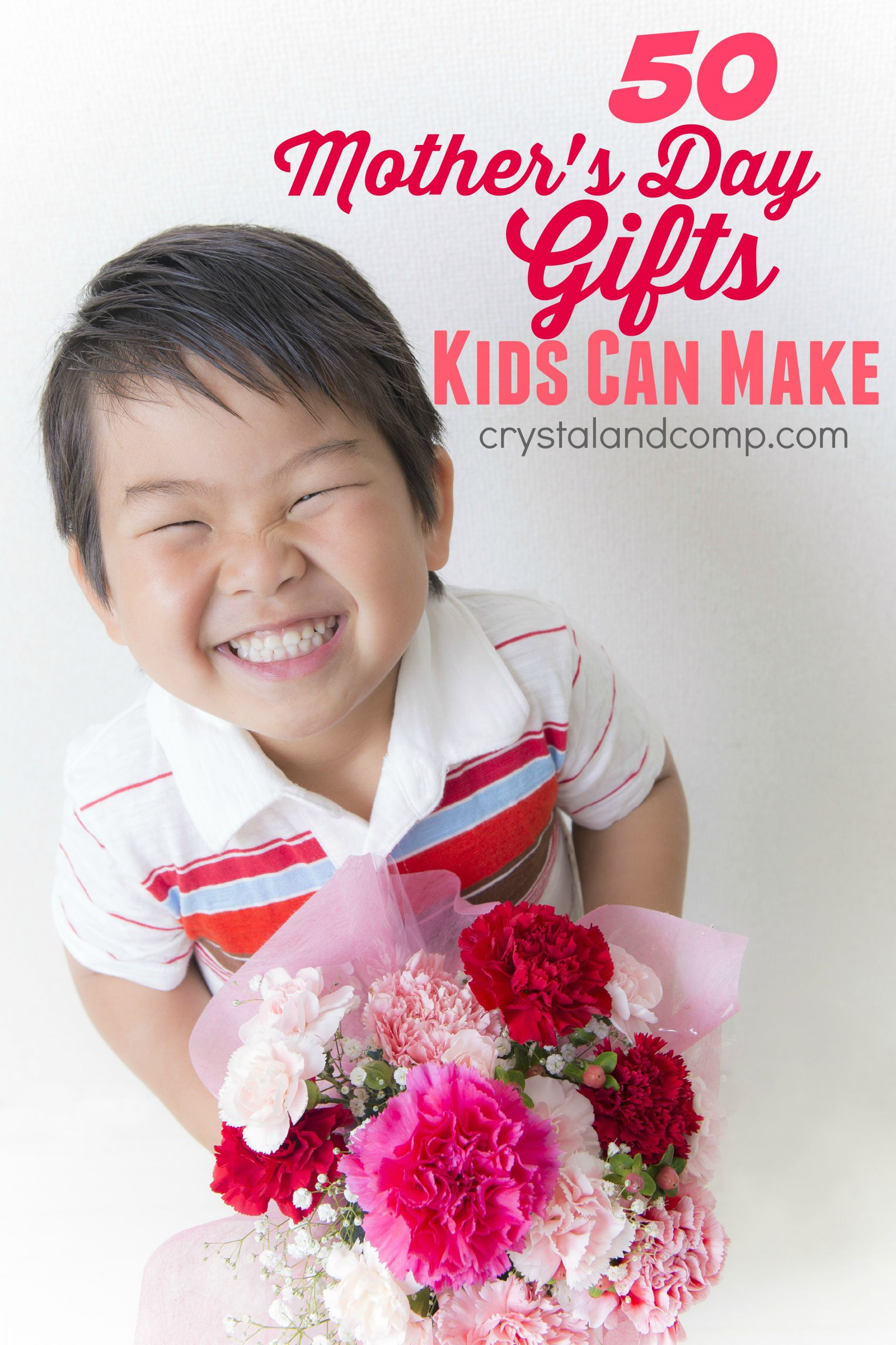 Mother'S Day Gift Ideas For Toddlers To Make  50 Mother s Day Gift Ideas Kids Can Help Make
