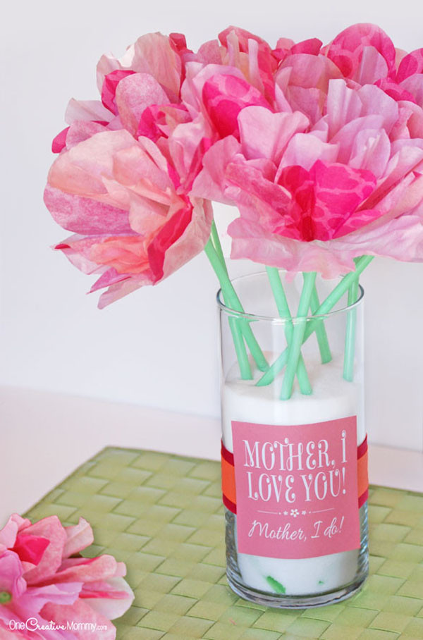 Mother'S Day Gift Ideas For Toddlers To Make  Cute Mother s Day Gift Idea and Printables