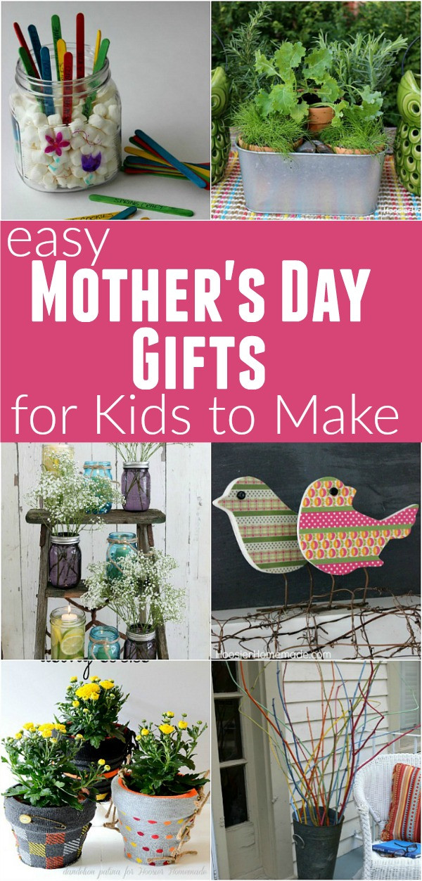 Mother'S Day Gift Ideas For Toddlers To Make  Easy Mother s Day Gifts for Kids to Make Hoosier Homemade