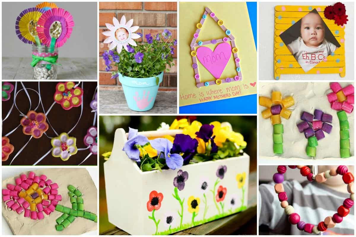 Mother'S Day Gift Ideas For Toddlers To Make  20 Mother's Day Gifts Kids Can Make