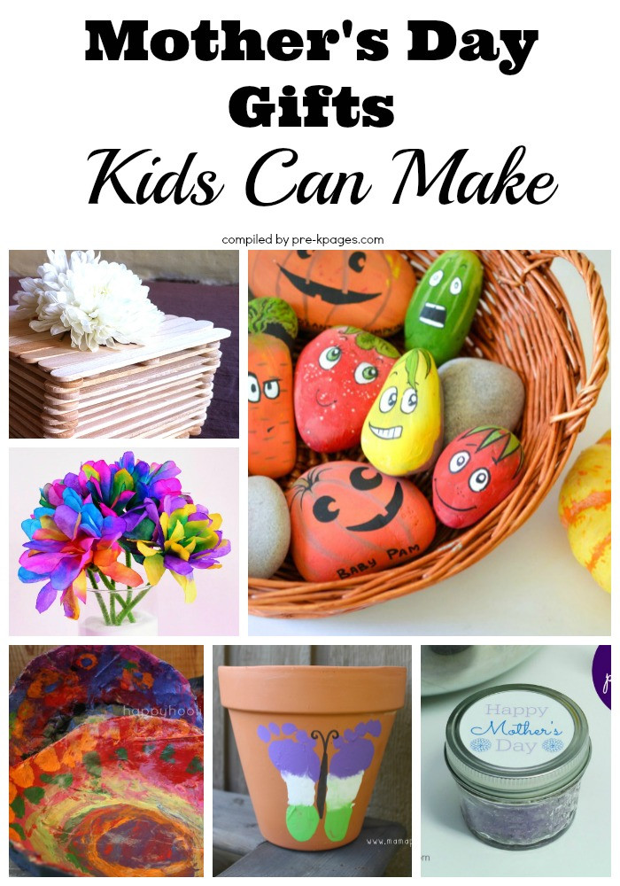 Mother'S Day Gift Ideas For Toddlers To Make  Mother s Day Gifts Kids Can Make