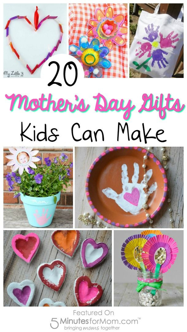 Mother'S Day Gift Ideas For Toddlers To Make  20 Mother s Day Gifts Kids Can Make