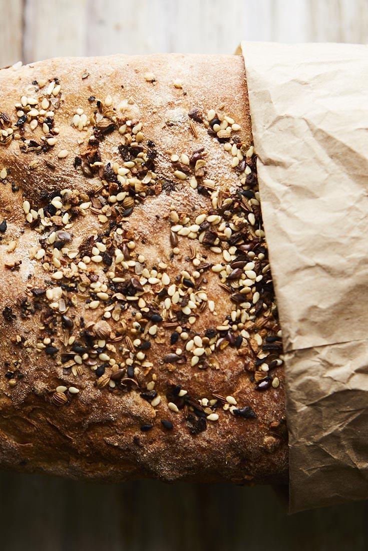 Multigrain Sourdough Bread  Clay s Multigrain Sourdough Sandwich Bread Recipe